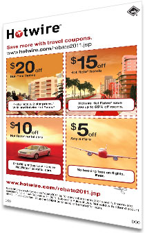 Entertainment Book rebate from Hotwire